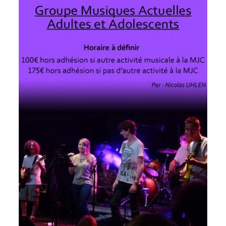 Groupe Musiques Actuelles