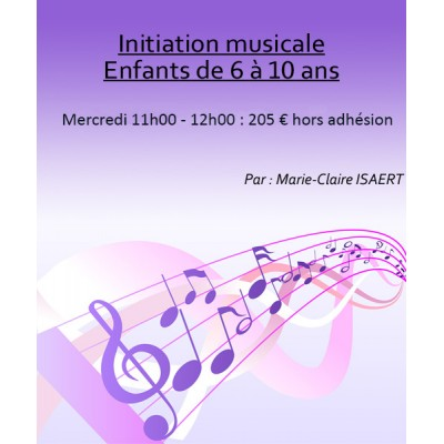 Initiation Musicale