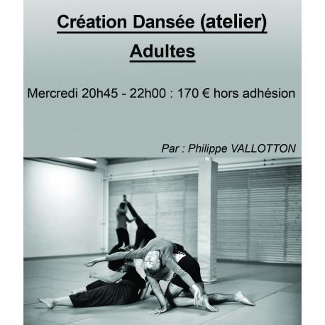 Danse Création Dansée (atelier)