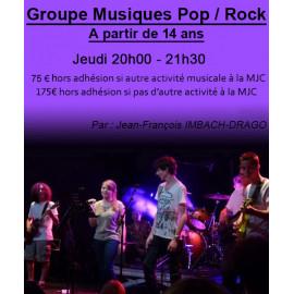 Groupe Musiques Pop / Rock