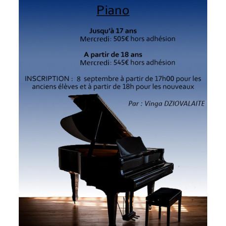 Piano - Vinga DZIOVALAITE